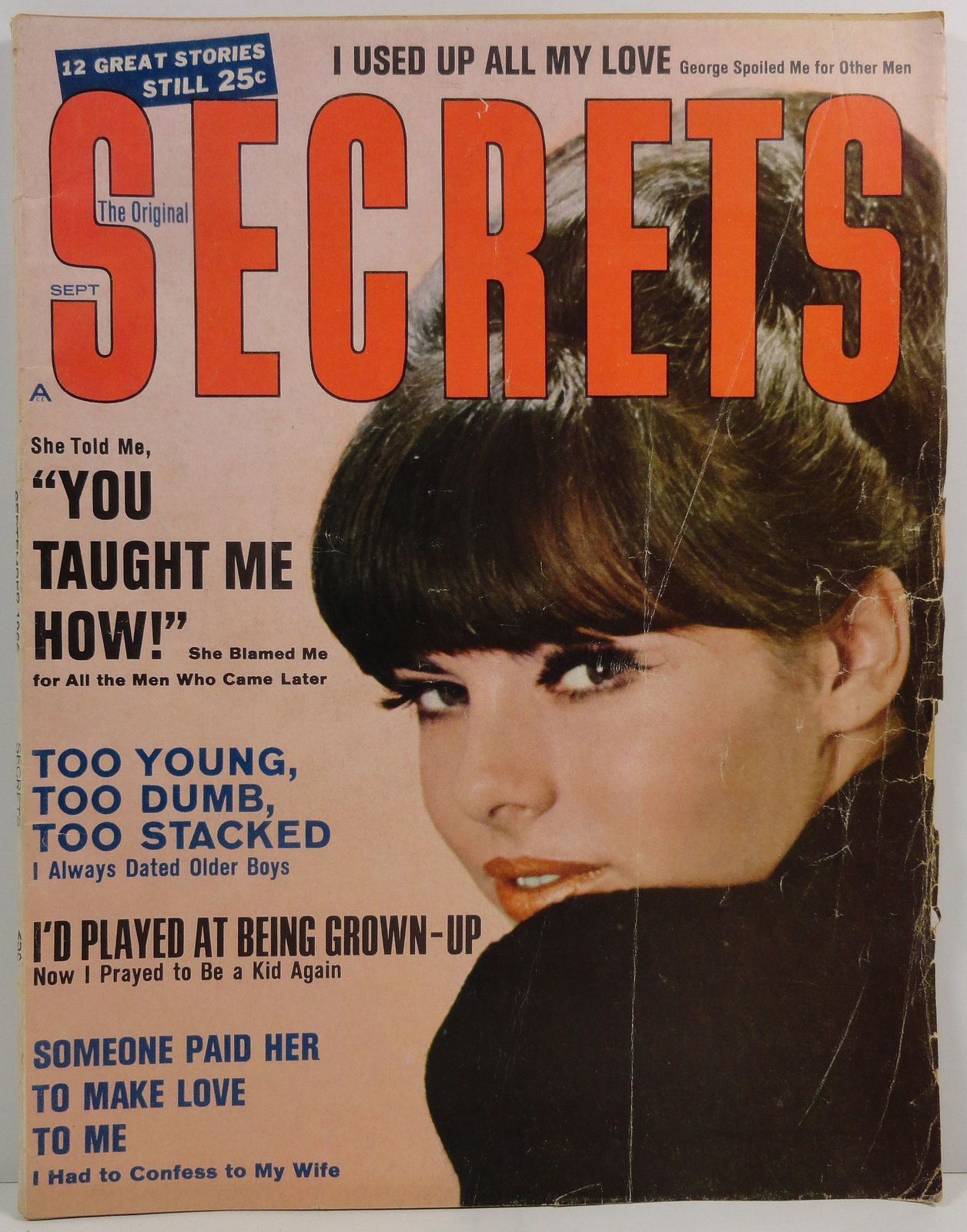 Primary image for The Original Secrets Magazine September 1966