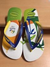 Havaianas Women RIO 2016 Flip Flops Multicolor USA 9 / 10 Euro 39 / 40 NEW - $31.55