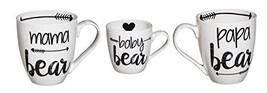 Cypress Home Baby Cub and Family Ceramic Cup O'Java Mug Gift Set - $31.15