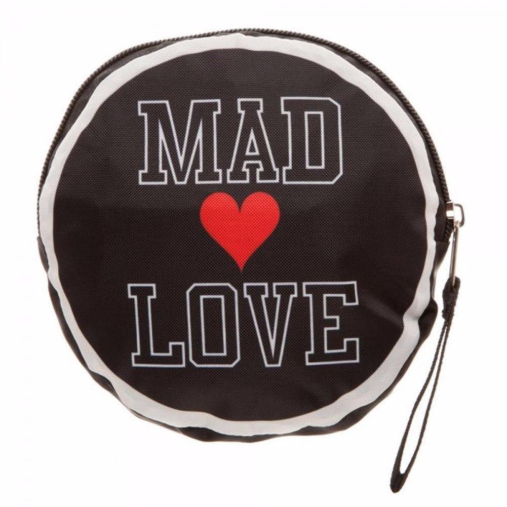 Harley Quinn Mad Love Tote Bag Black