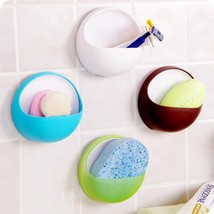 Soaps Holder Plastic Storages Bathrooms Shower Containers Practical Acce... - $6.99