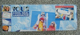 """YOU2 Cool-Seal Laminator laminate up to 9"""" wide cards recipes photos per... - $10.50"""