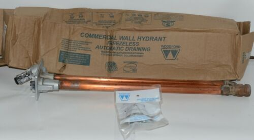 """Woodford Model 67P-18""""  Wall Hydrant P Inlet For Irrigation and Outdoor Watering"""