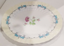 """Royal Doulton Picardy Floral 12 3/4"""" Oval Serving Platter (2 Available) - £20.50 GBP"""