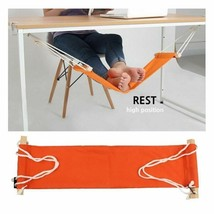 Table Feet Hammock Indoor Office Home Airplane Legs Rest Foot Chair Care... - $19.59