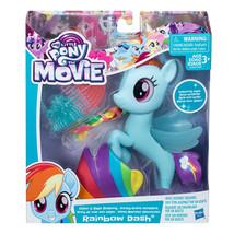 Hasbro My Little Pony The Movie Glitter and Style Seapony Rainbow Dash - $29.49