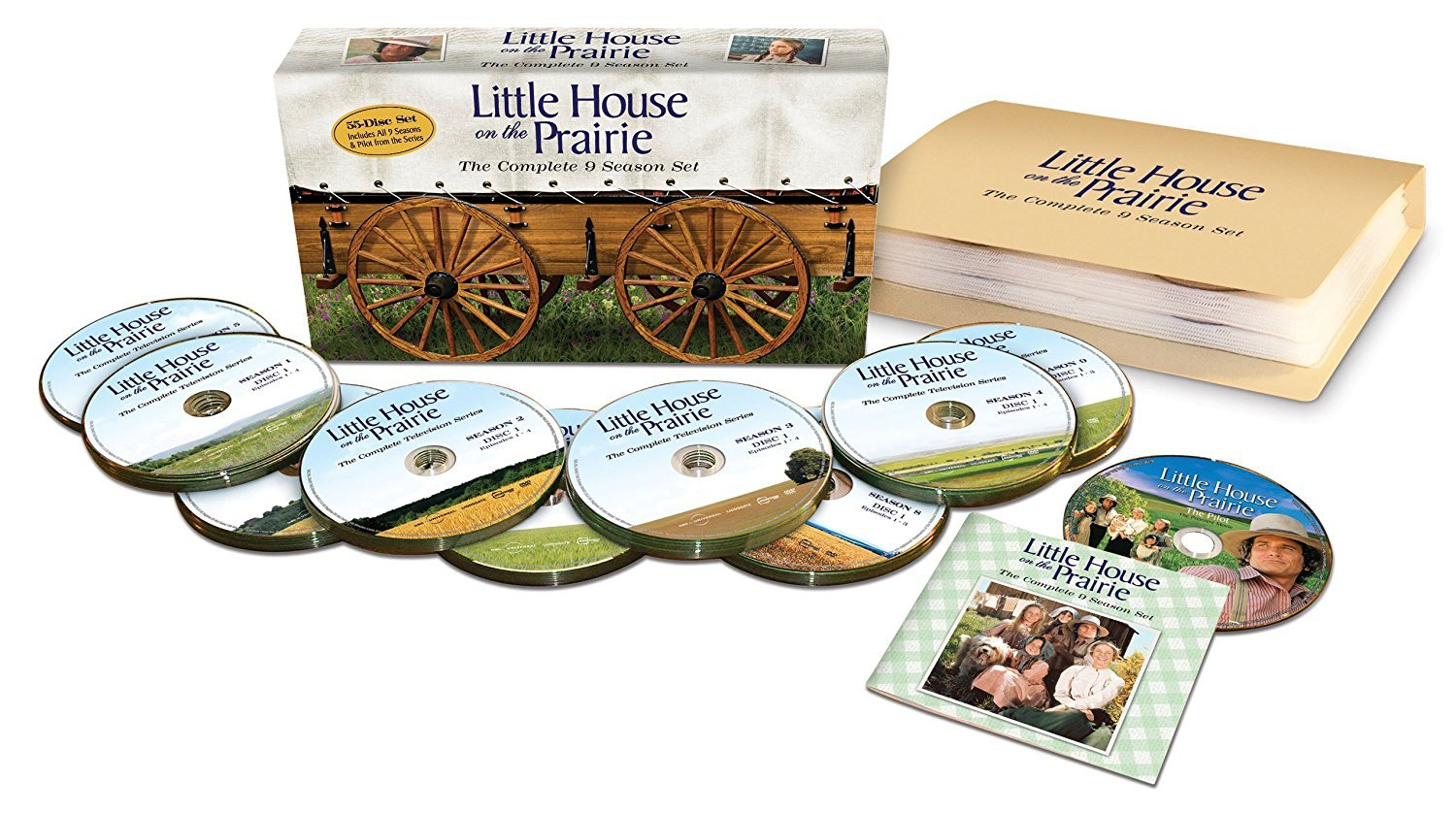 Little House on the Prairie The Complete 1-9 Season Boxset (DVD, 2011 55-Disc)