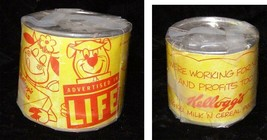 Kelloggs Life Premium Canned Cow Yogi Bear 1961 Cereal Premium - $29.99