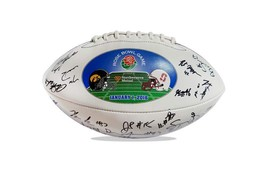 2015 Stanford Cardinal team signed football w/Certificate autographed (49 - $203.94