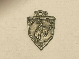 Vintage Watch Fob - Rodeo Rider Logan Utah - $17.00