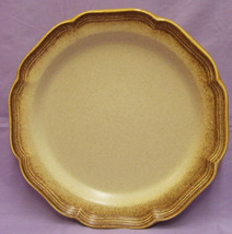 Vintage Mikasa Large Serving Platter Whole Wheat E8000 Chop Plate Tray - $15.83