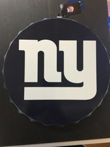 New York Giants 12 Inch Bottle Cap Round State Design  [NEW] NFL Cave Wall E19 - $14.50