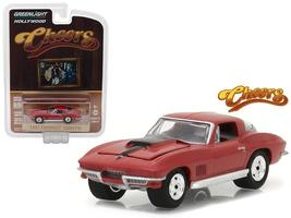 1967 Chevrolet Corvette Sting Ray Cheers Hollywood 17 1:64 Diecast - $14.27
