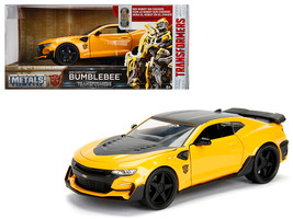 "2016 Chevrolet Camaro Bumblebee Yellow From ""Transformers\"" Movie 1/24 Diecast  - $36.94"