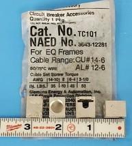 LOT OF 4 NEW ITE TC1-Q1 CIRCUIT BREAKER TERMINAL LUGS TC1Q1 (NO SET SCREWS)