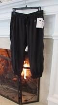 GAP Fit Black Drawstring Cropped Pants Sz XS Retail $49.95 - $35.64