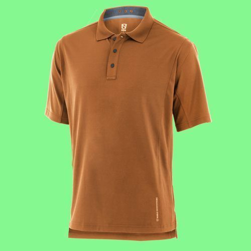 Noble Outfitters Coolflo Performance Polo Small NEW Spice