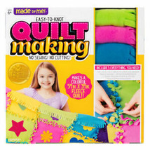 Made By Me Quilt Making Kit - Multicolor - Great for Children's Home Crafts!