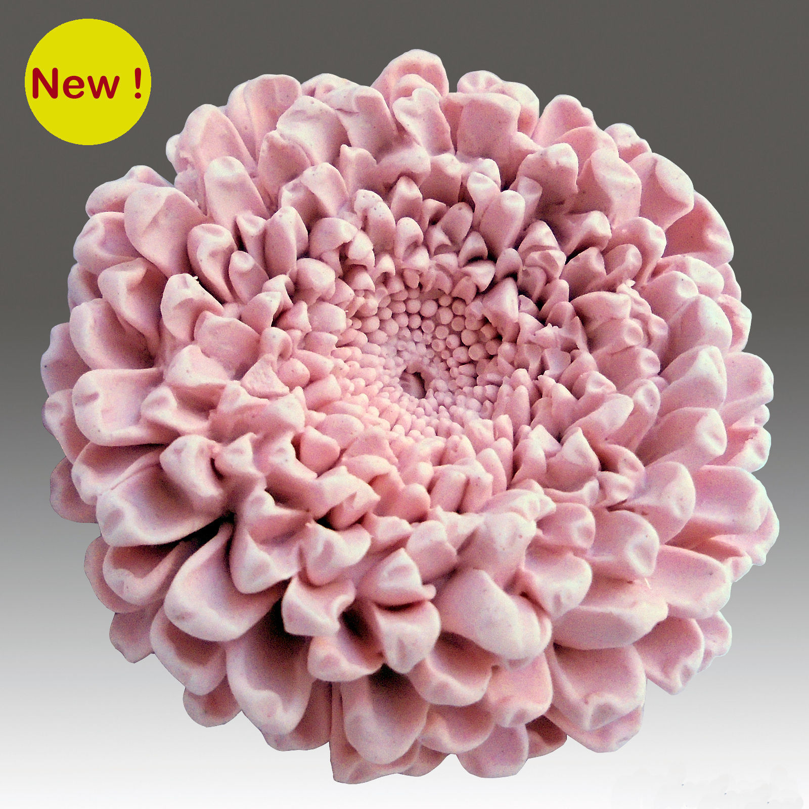 Silicone MP soap mold Silicone Mold 3D Blooming Chrysanthemum