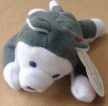 TY Teenie Beanie Babies Nook the Husky Stuffed Animal Plush Toy - 5 inch... - $10.28