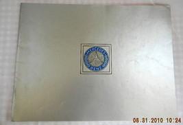 1978 MERCEDES 450 SL 450 SEL SALES BROCHURE 107 123 116 - $34.99