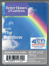 Over the Rainbow Better Homes and Gardens Scented Wax Cubes Tarts Melts - $4.00