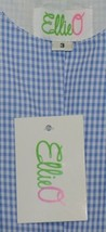 Ellie O Gingham Full Lined Cotton Polyester Blend Longall Size 3 Color Blue image 2