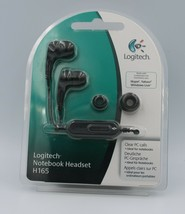 Logitech H165 Notebook Headset for PCs, MP3 and DVD players - New - $30.00