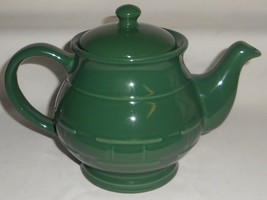 Longaberger WOVEN TRADITIONS IVY GREEN Teapot w/Lid MADE IN USA - $49.49