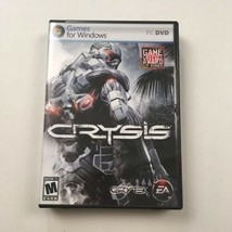 Windows PC DVD Crysis Video Game Crytek EA Shooter Adapt Engage Survive - $14.80