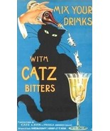 Mix Your Drinks With Catz Bitters Magnet - $4.99