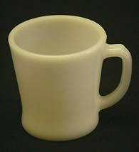Old Vintage Anchor Hocking Anchor Milk White Coffee Cup Mug MCM USA - $12.86
