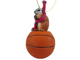 Chipmunk Basketball Ornament - $17.99
