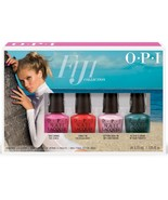 OPI Fiji Mini Collection Spring 2017 Nail Lacquer Set of 4 Mini's (.125 ... - $12.19