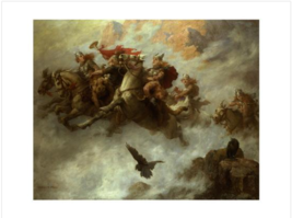 The Ride of the Valkyries Poster Print - $99.00