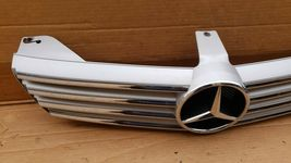 06-08 Mercedes W219 CLS500 CLS550 CLS63 AMG Hood Mtd Radiator Grill Grille Gril image 5