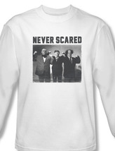 The three stooges comedy team long sleeve white graphic tee for sale online tts151 al thumb200