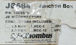 SJE Rhombus Junction Box 1008549 Connectors Included 1.5 HUB RCC8 image 10