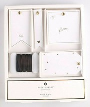 Sugar Paper LA 12ct White + Black + Gold XO + Hearts + Stars Gift Tag Set