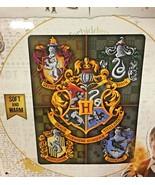 "Harry Potter Hogwart's Crest 46"" X 60"" Throw Blanket Gryffindor Ravenclaw - $39.99"