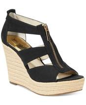 MICHAEL Michael Kors Damita Platform Wedge Sandals Black Mult Size  - $99.99