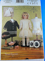 "Vogue 7350 Teresa Layman Vintage 18"" Doll clothes Pattern UNCUT Factory ... - $15.83"