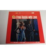 James Bond From Russia With Love Soundtrack ORIGINAL Vinyl LP Record Album - $23.15