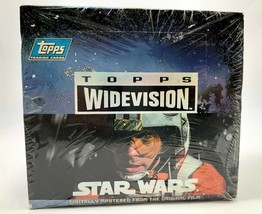 Star Wars A New Hope Topps Widevision Trading Cards Box Factory Sealed 1994 - $56.09