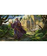 Haunted Medieval Occult Ring Merlin King Arthur Wealth Power Energy Spir... - $3,950.00
