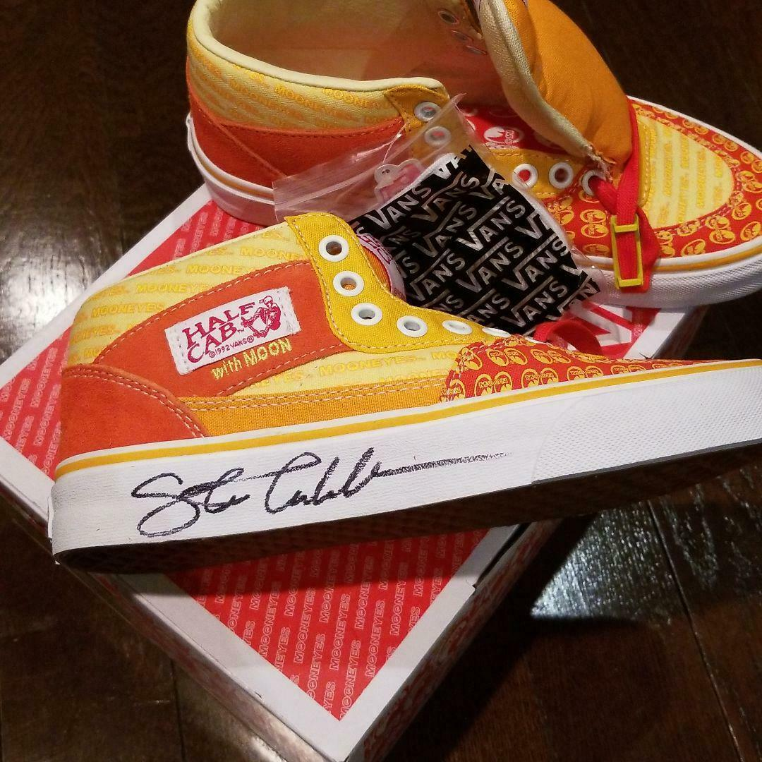 VANS mooneyes Authentic Half Cab Skate Shoes US Mens 5 Ladies 6.5 New Unused