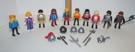 Playmobil lot castle knights colonial accessories 10 people - $19.99