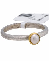 ¦Authentic GURHAN 925 Silver 24K Gold Skittle Preal Ring Size 6.75»$190 - £66.62 GBP