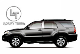 Toyota 4Runner Stainless Steel Chrome Pillar Posts by Luxury Trims 2003-... - $76.38