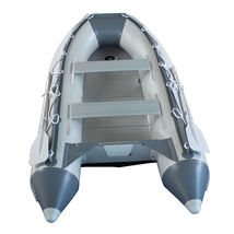 BRIS 9.8ft Inflatable Boat Tender Fishing Raft Dinghy Boat + Free Launch Wheels image 7